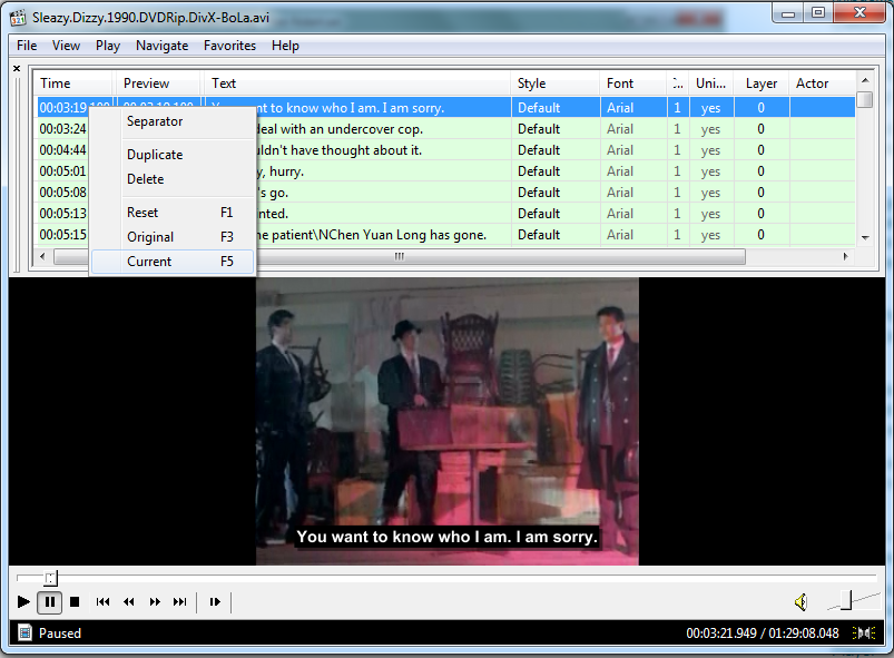 Resync Subtitles Media Player Classic Silent Sakky Found It